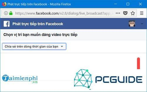 huong dan cach live stream facebook on may tinh by phan mem obs 6
